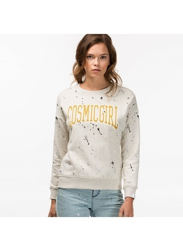 Lacoste Baskılı Sweatshirt Renkli